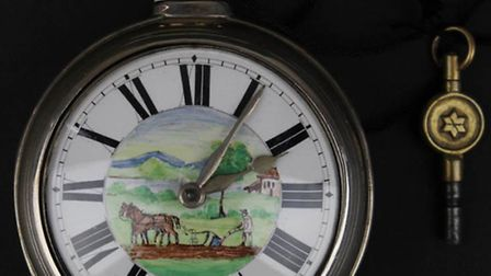 The watch, made by J Fillinger and Co, of Ely.