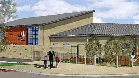 Proposed new primary school to the north of Cam Drive and south of King Edgar Close, Ely.