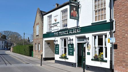 The Prince Albert, Ely. Picture: Steve Williams.