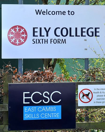 Ely College. Picture: Steve Williams.