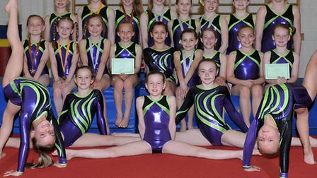 Fenland Gymnastics Academy has had a great start to the season. Picture: Steve Williams.