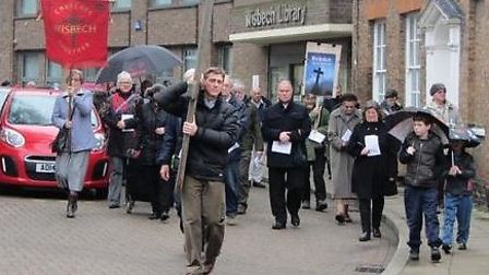 Churches Together Good Friday, Wisbech