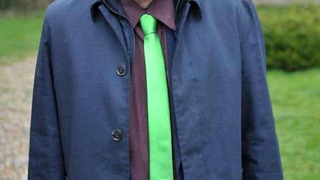 Clive Semmens, standing for the Green Party. Picture: Steve Williams.