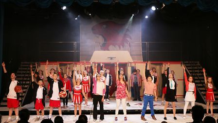 High School Musical performed at King's Ely.