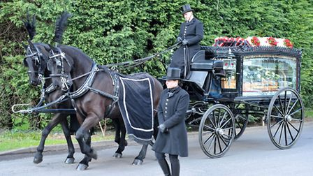 Patsy Brewin, Funeral.Picture; Steve Williams.