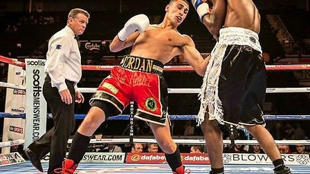 Jordan Gill boxed Barrington Brown in Sheffield. Picture: Mark Crawshaw Photography.