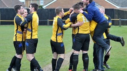 March Town United Reserves v Whittlesford.Picture: Steve Williams.