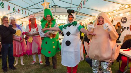 Fun with fancy dress! Contestants pioctured in the 2015 Association of Nene River Club's (A.N.R.C)
