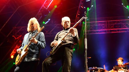 Status Quo are at Burghley House on June 6.