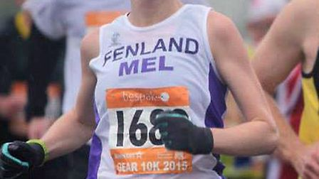 Melanie Murdoch, pictured running in the Great East Anglia Run.