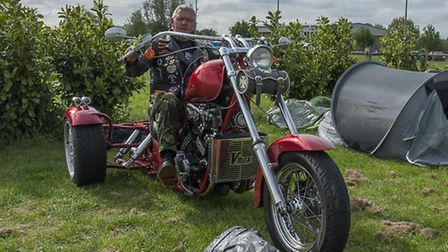 Scores of people gathered to enjoy the 20th annual Trikefest, in Littleport.Picture: Clinton Edwards