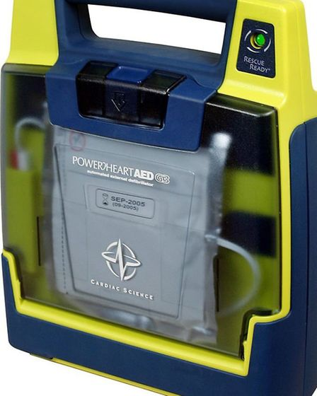The type of defib which has been stolen in Whittlesey