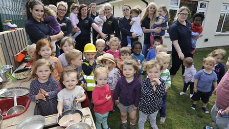 Lancaster Lodge, Ely, receive a good ofsted report, staff and users, in the Muddy Kitchen.