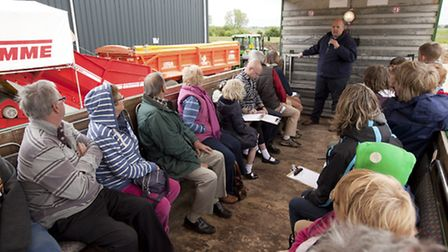 G's farm, in Barway, will once again be taking part in Open Farm Sunday.