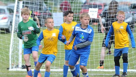 March Rangers 6 a side junior football tournament.Picture: Steve Williams.