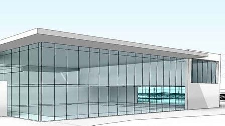 How the proposed leisure centre could look.