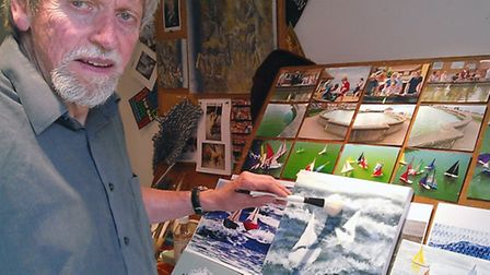 Ted Coney, Ely artist.