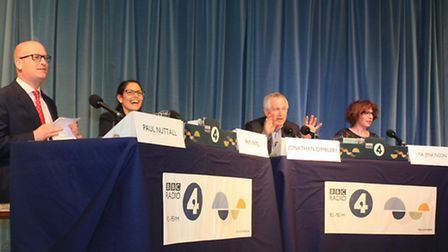 Panel at Any Questions, Wisbech
