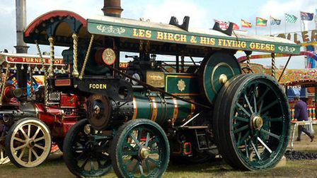 The 1907 Foden showmans steam engine sold for £160,000