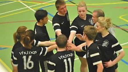 The league winning Ely Vikings squad.