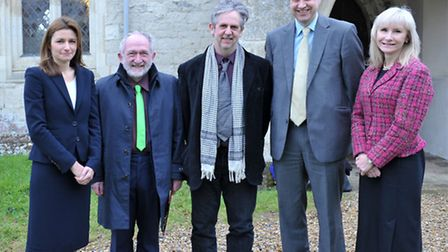 Candidates standing for the South East Cambridgeshire seat in the forthcoming General Election. Left