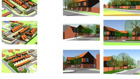 Roddons won approval for this original design for Begdale Road, Elm. There have been changes