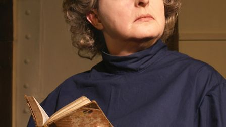 Judi Daykin plays Edith Cavell at the Angles Theatre.