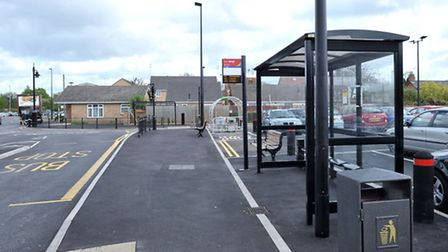 New bus stops and Whittlesey enhancements.Bus stops and car park, Grosvenor rd. Picture: Steve Will