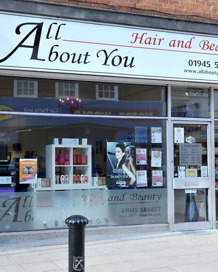 All about You Hair and Beauty Ltd, High St, Wisbech. Left: Director Mark Partridge and stylist Laura
