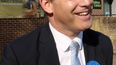 Re-elected and with an increased majority, MP Steve Barclay