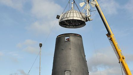 Burwell Mill underwent major restoration with Heritage Lottery funding. Picture: Steve Williams.