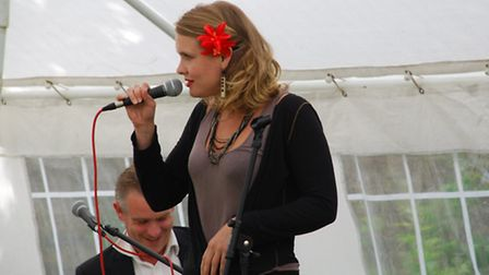 Polly Gibbons will be performing in Ely.