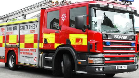 Firefighters were called to attend a bedroom fire in Jackmans Place, Letchworth, this afternoon.