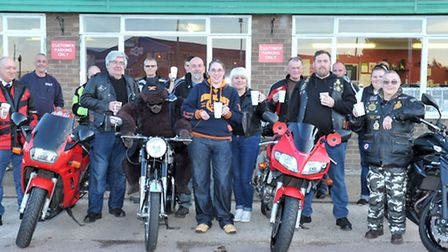 Bike night takes place at The Coffee Tree, A47 Guyhirn on Wednesday evenings. Picture: Steve William