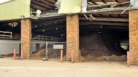 Waste recycling site/dust in Whittlesey