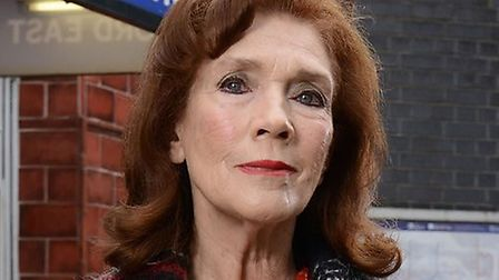 Linda Marlowe as Sylvie Carter.Picture: BBC