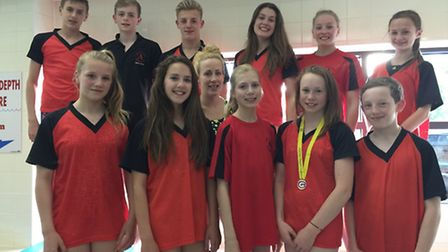 Dunmow Atlantis Swimming Club swimmes that competed at the East Region Championship