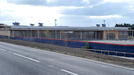 The mothballed Tesco at Chatteris.