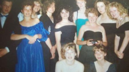 Class of 1989 at what is thought to be the first Neale Wade prom