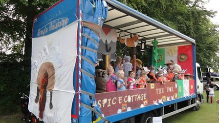 Sights, sounds and events from Burwell Carnival