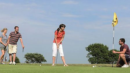 9 Hole Pitch And Putt at Potters Leisure Limited.