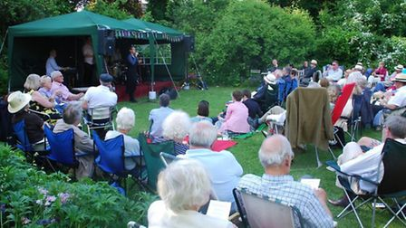 Jazz afternoon at the Old Fire Engine House, in Ely.