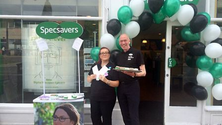 Specsavers in March held an open day to launch the Digital Precision Eyecare service.