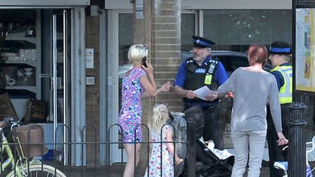 Rikki Neave police enquiry, activity on the Welland estate, Peterborough. Picture: Steve Williams.