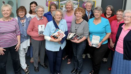 celebration event was held at March library to mark 20 years of the housebound service and to thank