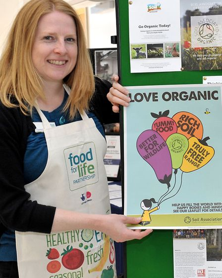 Careers in Food conference, Carrie Bewick from Food For Life. Picture: Steve Williams.