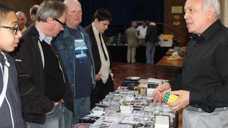 The Peterborough Society of Magicians are hosting a convention on Sunday.