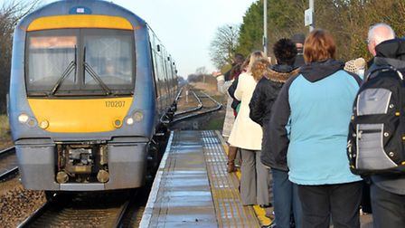 Change coming down the line? Candidates will vie for control of the railways in East Anglia.