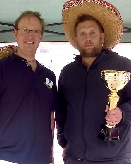 Skylark Chilli Eating Competition. The winner was Ross Sutton from Peterborough. Who won £100 of Sky