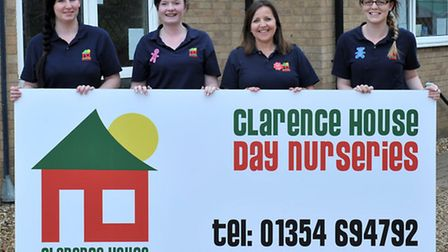 Clarence House Day Nurseries, Chatteris. Left: Jess Lavender (Little Learners), Deputy Manager Lee-A